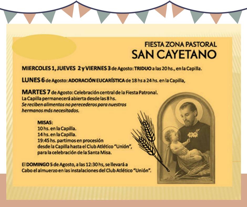 Fiesta Patronal de San Cayetano
