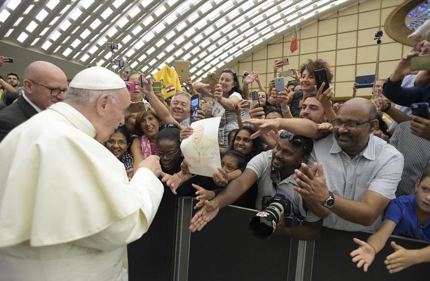 Catequesis del Papa Francisco del día 22 de agosto