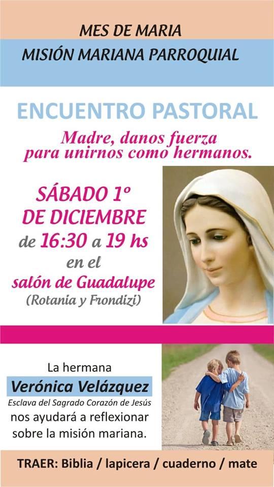 Misión Mariana Parroquial: encuentro parroquial