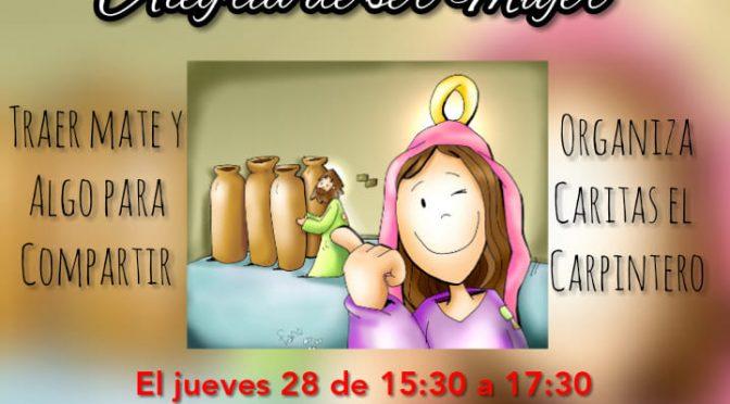 Junto a la Virgen María celebramos la alegría de ser mujer