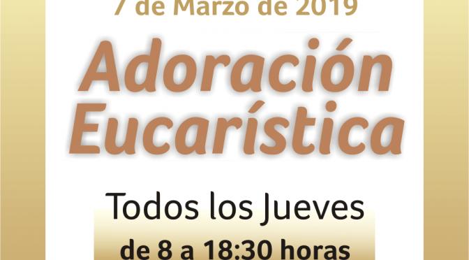 Horarios de Adoración Eucarística