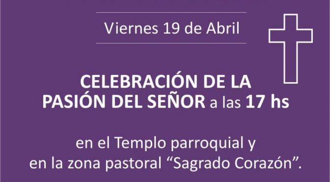 Celebración de la Pasión del Señor