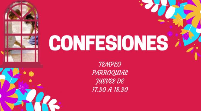 Confesiones en el Templo