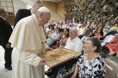 """""""Las cuatro huellas de un buen cristiano"""" – Catequesis del Papa Francisco 26 de Junio"""