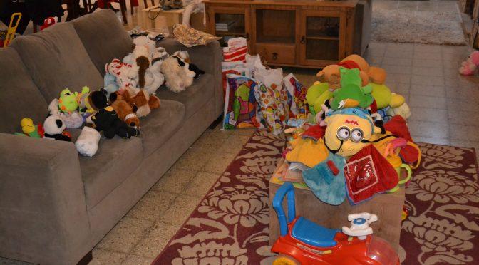 Estamos preparando los regalos del día del Niño