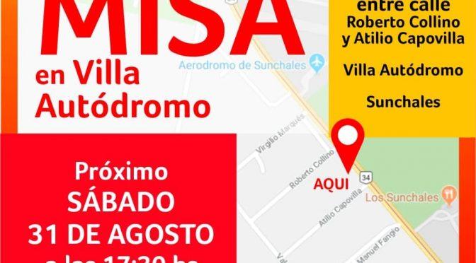 Quinto sábado, Misa en Villa Autódromo