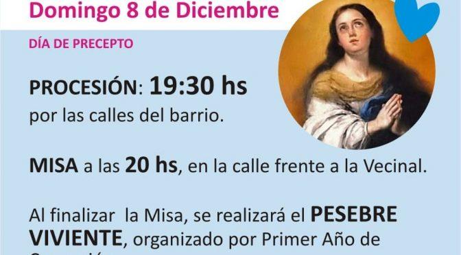 Inmaculada Concepción – 8 de diciembre
