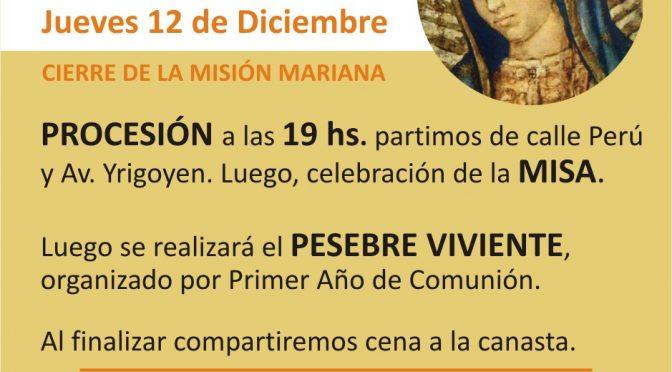 [Video] – Fiesta de zona Nuestra Señora de Guadalupe