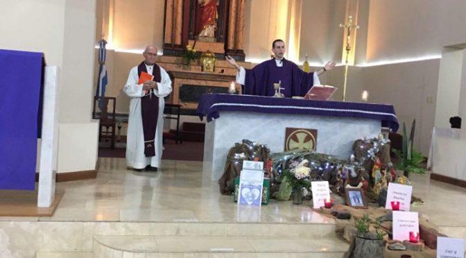 1° aniversario de vida sacerdotal del P. Néstor