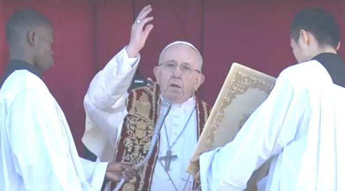 ¿Cómo obtener la indulgencia plenaria con la bendición Urbi et Orbi del Papa?
