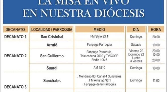 [Video] Misa del 22/03/2020 IV Domingo de Cuaresma