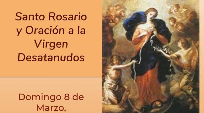 Rosario en zona Sagrado Corazón de Jesús