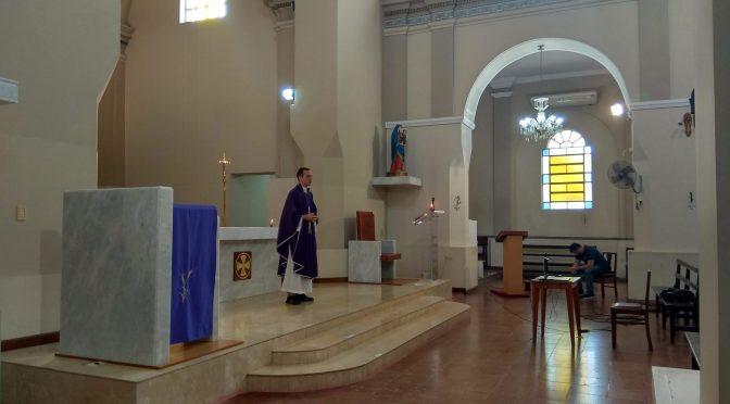 [Video] Misa del V Domingo de Cauresma 29/03/2020