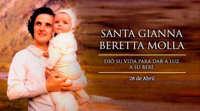 Hoy es la fiesta de Santa Gianna Beretta, patrona de las madres, médicos y niños por nacer