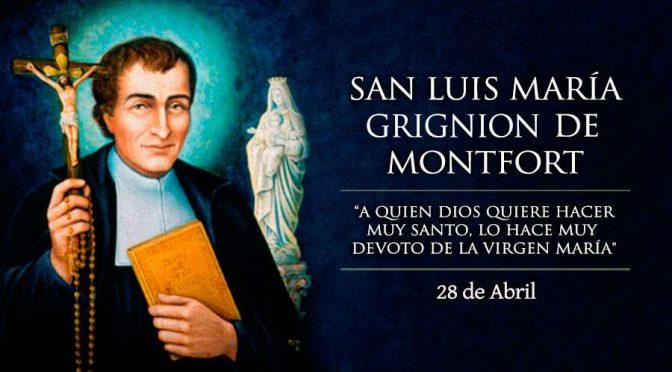 San Luis María Grignion de Montfort, «el esclavo de María»