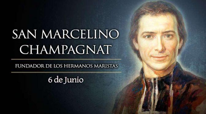 San Marcelino Champagnat, fundador de los Hermanos Maristas