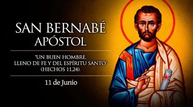 11 de junio: San Bernabé
