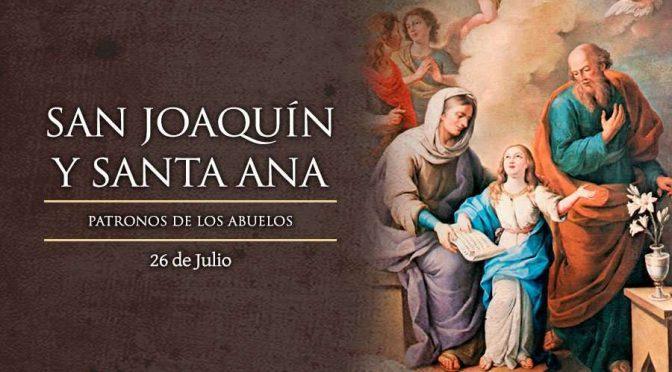 San Joaquín y Santa Ana, patronos de los abuelos