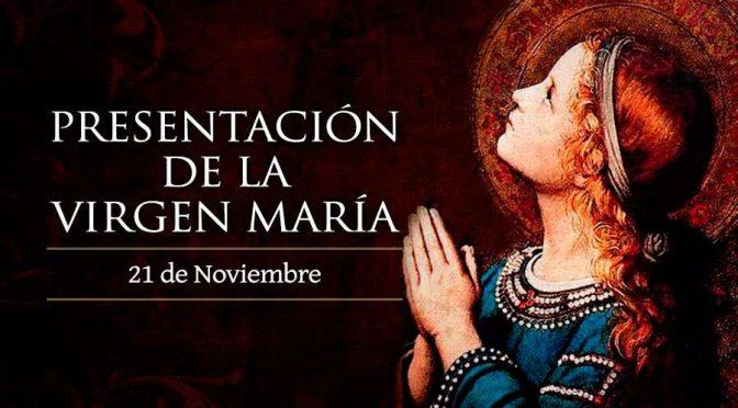 Presentación de la Virgen María.