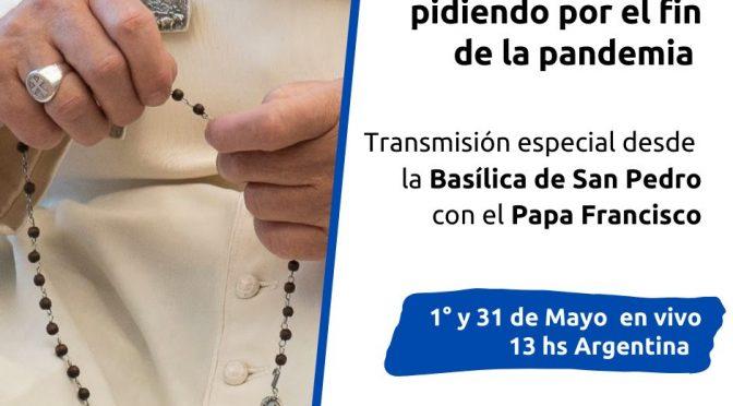 Rosario mundial con el Papa Francisco