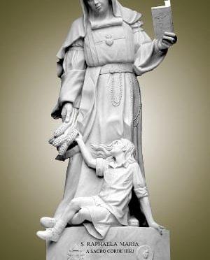 Hoy es fiesta a Santa Rafaela María del Sagrado Corazón, religiosa española