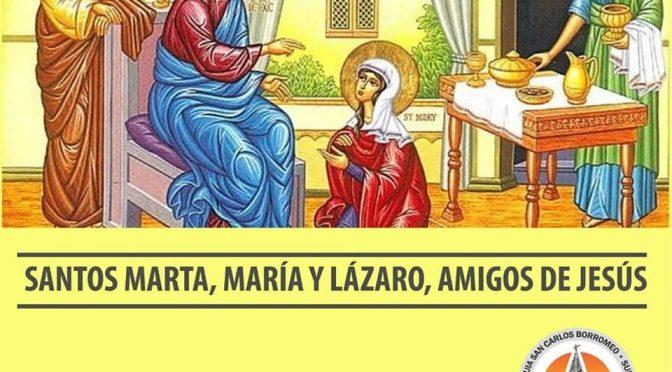 Misa por Santa Marta