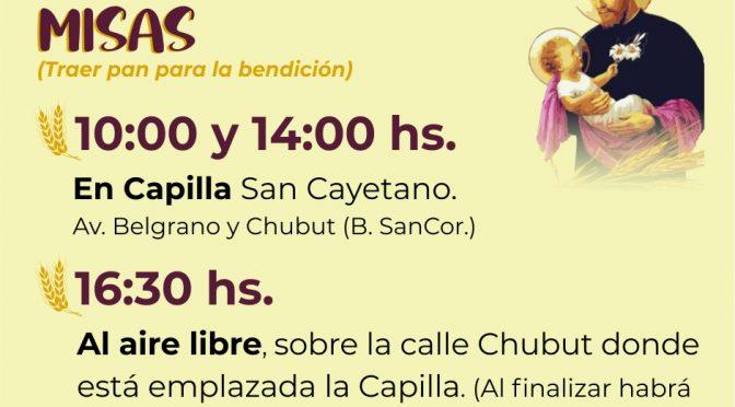 Misas por San Cayetano