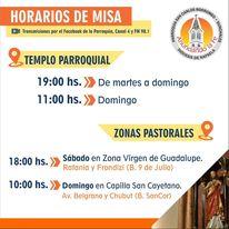 Misas 18 y 19 de septiembre